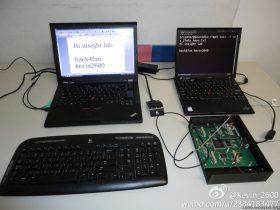 (视频)USRP 来 Sniffing 无线键盘,27Mhz keyboard sniffing