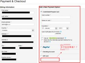 Godaddy域名注册、续费找不到、没有支付宝,无法使用支付宝付款