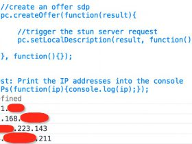 JS绕过代理、VPN获取真实IP及内网IP,逆向追踪