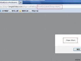 JWPlayer Xss 0day [Flash编程安全问题]