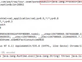 关于 jboss seam framework 远程代码执行漏洞的利用