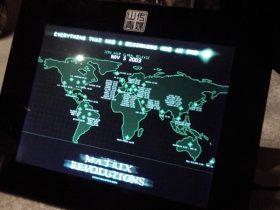 物理黑客户外硬件入侵之:某咖啡厅的广告展示终端……