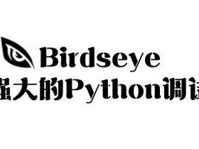 Birdseye - 极其强大的 Python 调试工具