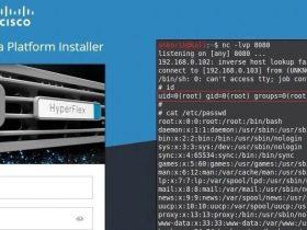 Cisco HyperFlex HX命令注入漏洞 CVE-2021-1497/CVE-2021-1498