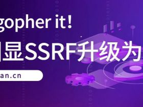 翻译文章 | Just gopher it!无回显SSRF升级为RCE