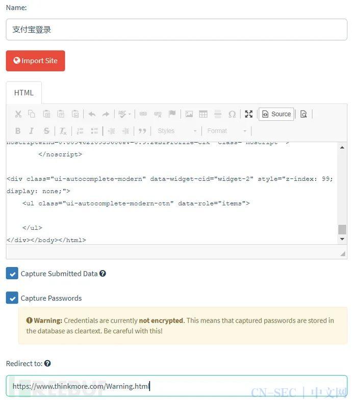 快速构建邮件钓鱼实践