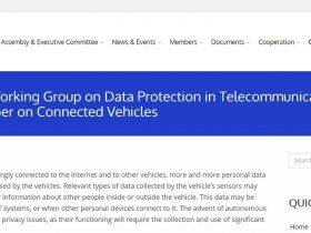 网联车辆 | 电信领域国际数据保护工作组的工作文件(全文翻译)