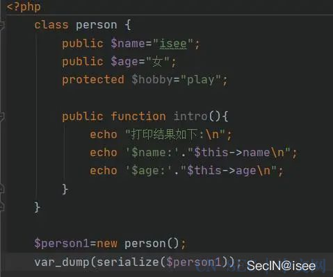 原创 | 白说:php反序列化之pop链
