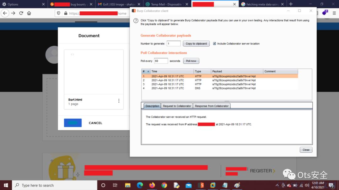 【渗透测试】服务器端请求伪造 - 伪造文件