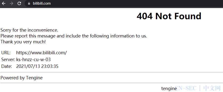 b 站崩了!网页、App 与小程序都无法使用
