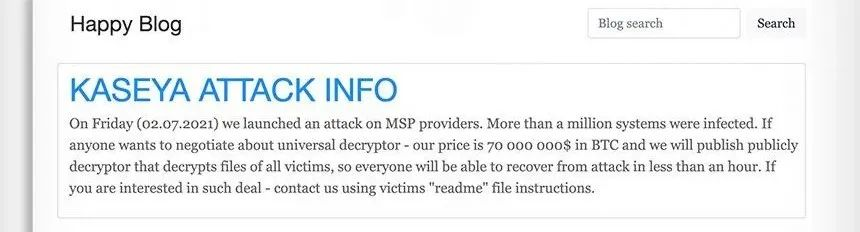 天才军事级黑客上线全球勒索赎金跟踪网站