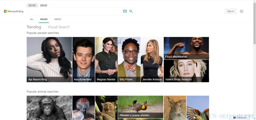 反向图像搜索工具