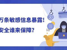 《2020年中国互联网网络安全报告》:隐私泄露风险严重