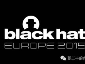 Black Hat Europe 2015 Day 2