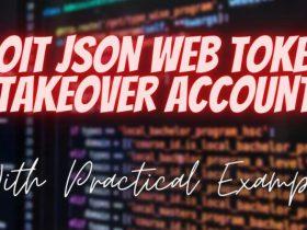 【渗透实例】利用JSON Web令牌进行账户接管