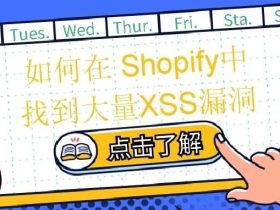 如何在Shopify中找到大量XSS漏洞