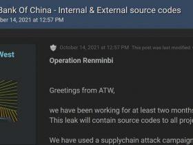 中国人民银行遭受供应链攻击事件