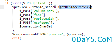 preg_replace引发的phpmyadmin(4.3.0-4.6.2)命令执行漏洞