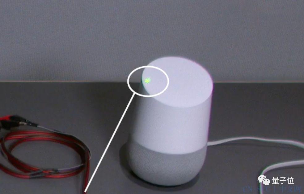 一束激光冒充人声:110米外黑掉智能音箱,手机电脑平板也中招