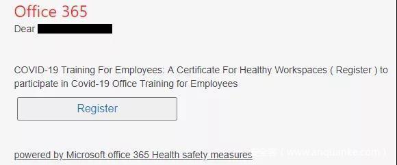 安全快讯7 | Office 365用户成为新的网络钓鱼目标