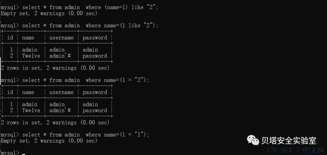 由一条like语句引发的SQL注入新玩法