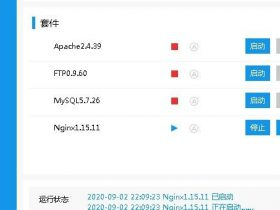 Phpstudy(小皮面板) nginx 解析漏洞