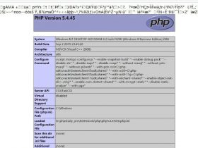 PHPstudy默认Nginx配置存在解析漏洞