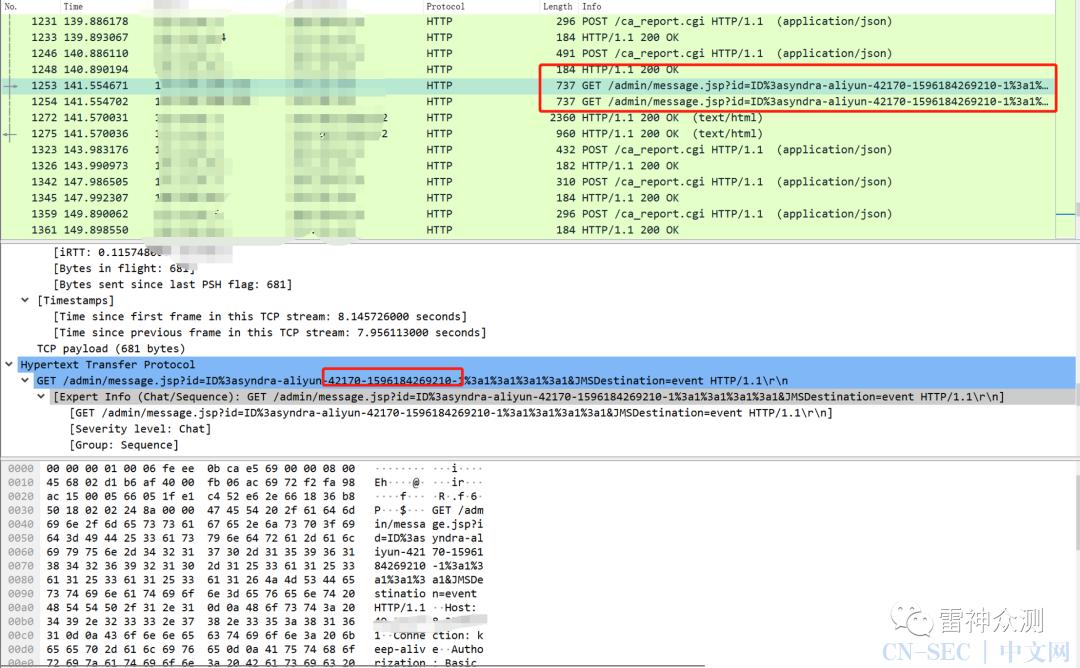 流量侧溯源-ActiveMQ 反序列化漏洞(CVE-2015-5254)