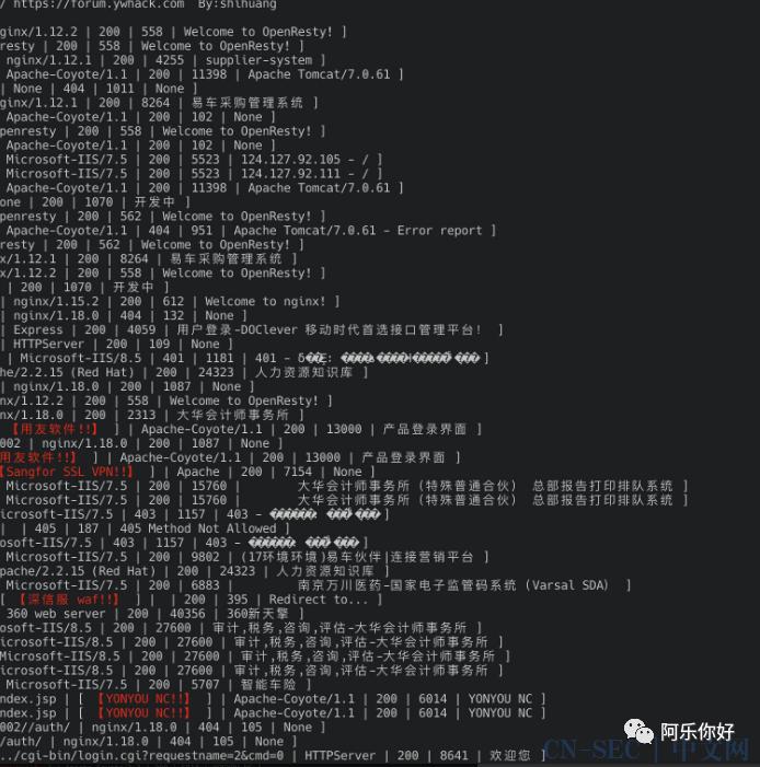 红队重点攻击系统指纹探测工具与重点系统漏洞整理