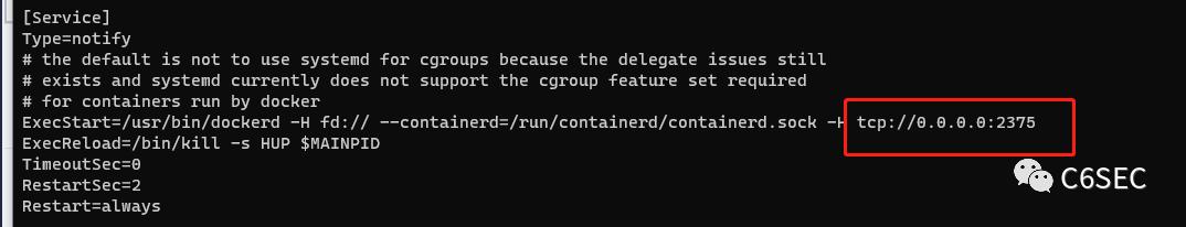 Easy RCE using Docker API 复现