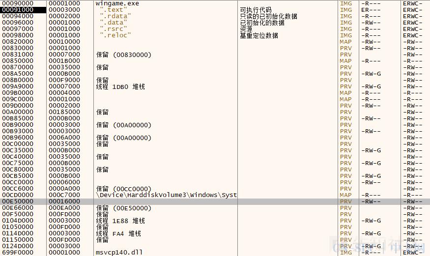 windows pwn学习笔记(附wingame下载地址)