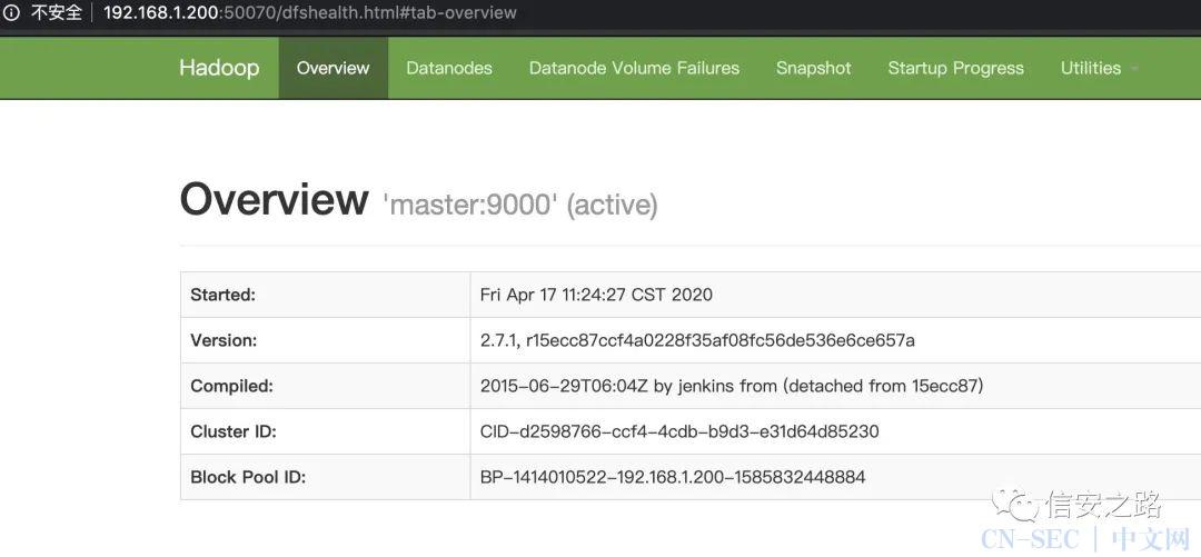 初探 Hadoop 集群安全
