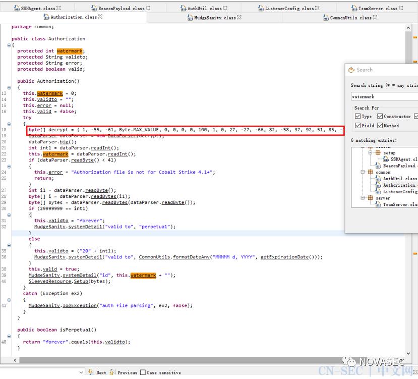 CS4.2 Fix版后门分析及修改编译-细节教材