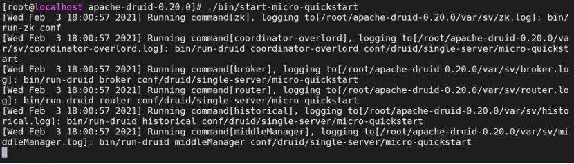 Apache druid未授权命令执行漏洞复现