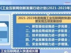 【政策解读】《工业互联网创新发展行动计划(2021-2023年)》解读