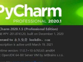 pycharm激活码2021最新永久激活 Jetbrains家族均可用
