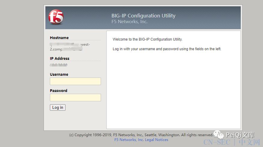 F5 BIG-IP 远程代码执行漏洞 CVE-2021-22986