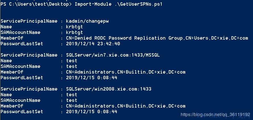 内网渗透(一) | 域渗透之SPN服务主体名称