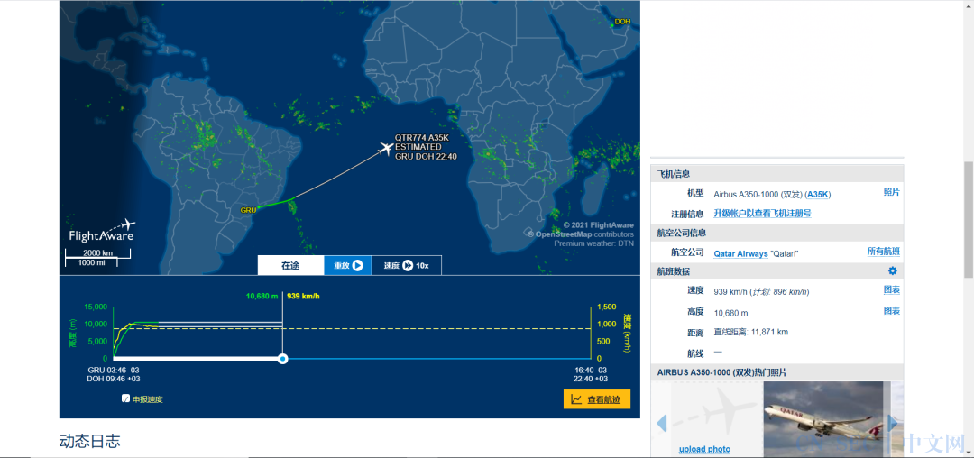 识别跟踪船舶、航班的开源网站