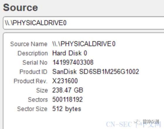 Getdata forensic imager取证工具基本使用官方文献归档