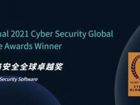 势不可挡 I 默安科技欺骗防御斩获2021 Cyber Security全球卓越奖
