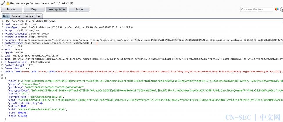 【渗透实例】我是如何发现微软任意账户劫持漏洞,并因此获得5万美元赏金的