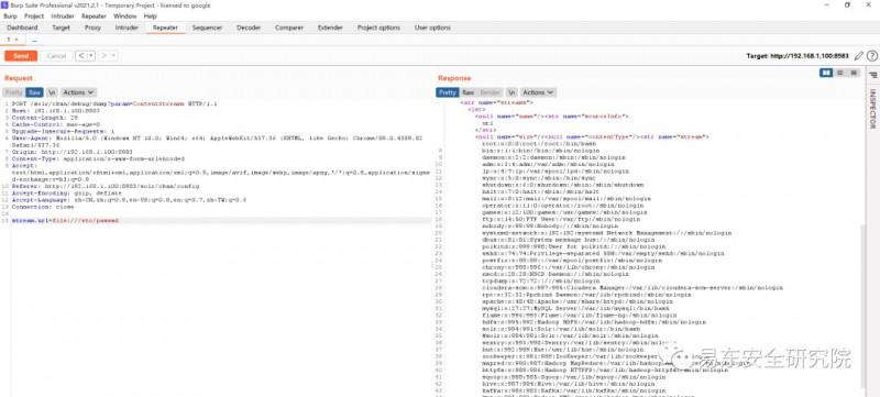 Apache Solr stream.url SSRF与任意文件读取漏洞利用