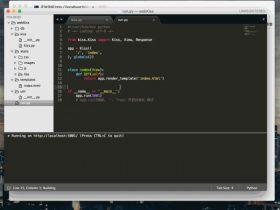 打造python web 框架(五): 进行web项目架构调试